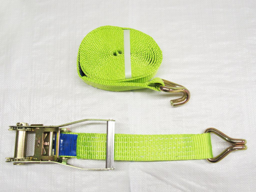 High Visibility Ratchet Straps With Claw Hooks